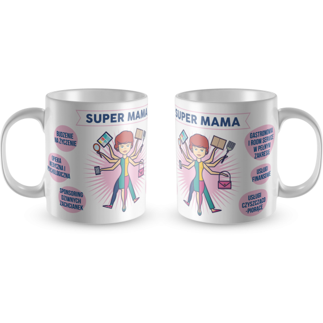 KUBEK SUPER MAMA NA DZIEŃ MATKI