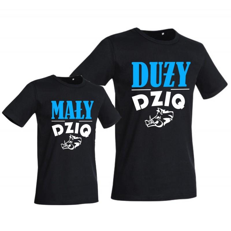 88971b76d8bc23 Zestaw MAŁY i DUŻY DZIQ -Body lub Koszulka i T-shirt dla Taty