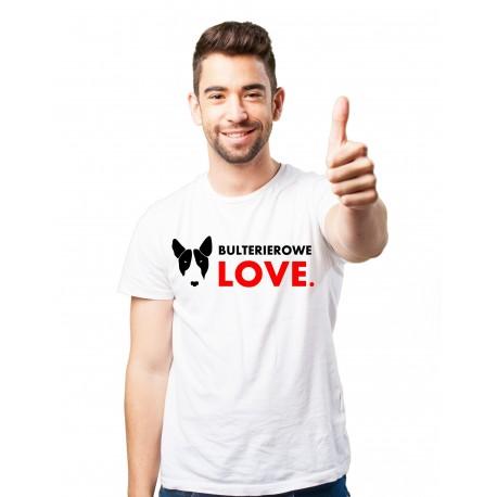 Koszulka Bullterierowe Love