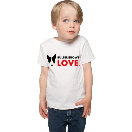 Koszulka Bulterierowe Love