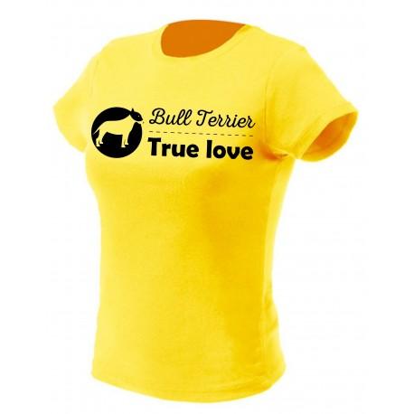Koszulka True Love Bulterier