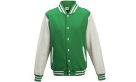 Zielona + białe rękawy